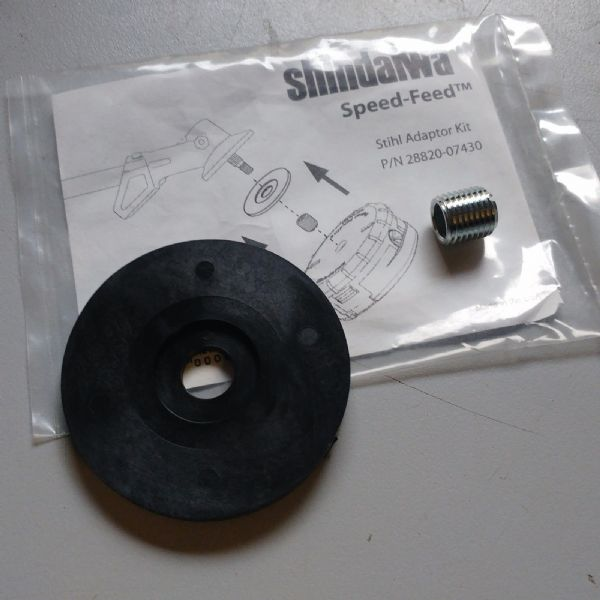 Shindaiwa 28820-07430 adapter for Speed feed line head to fit Stihl m10x1.0 LH